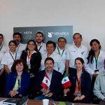 Delegación canadiense visita México