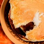 Receta hot cakes de avena y chocolate
