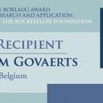 Reconocen a Bram Govaerts con Premio Mundial de la Alimentación