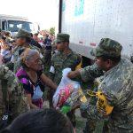 Realizan labores de reconstrucción en Oaxaca